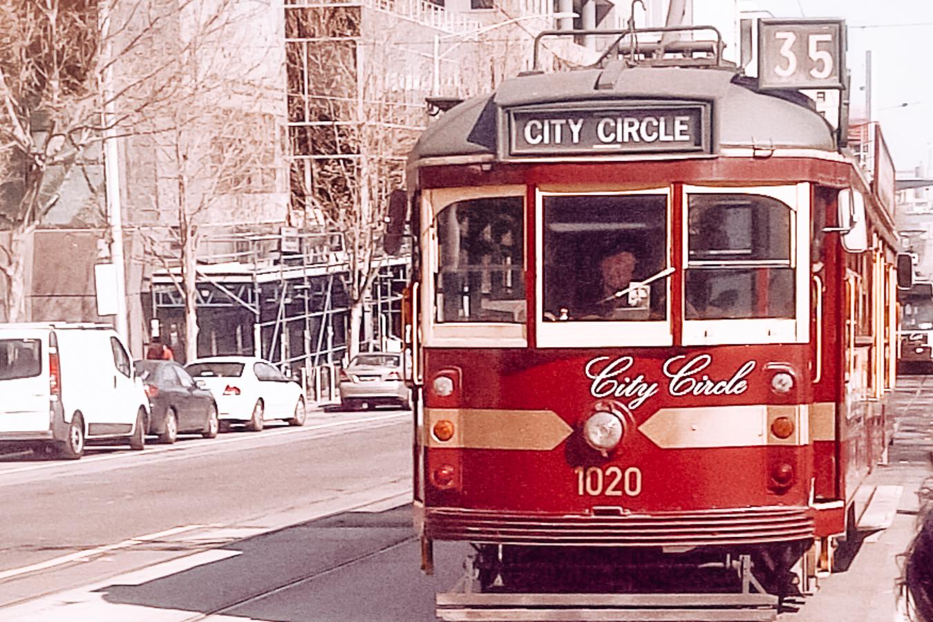City Circle tram in Melbourne