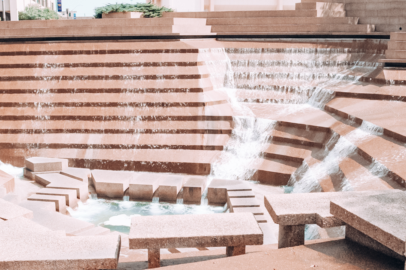View of Fort Worth Water Gardens