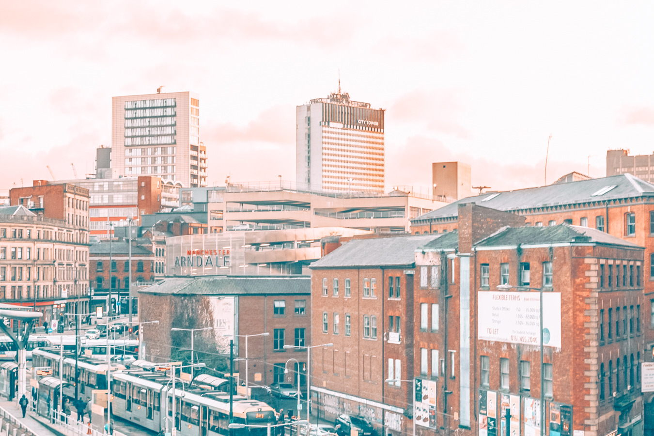 Buildings in Manchester