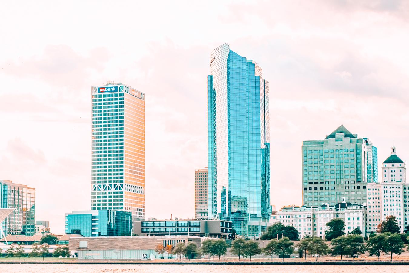 Buildings in Milwaukee