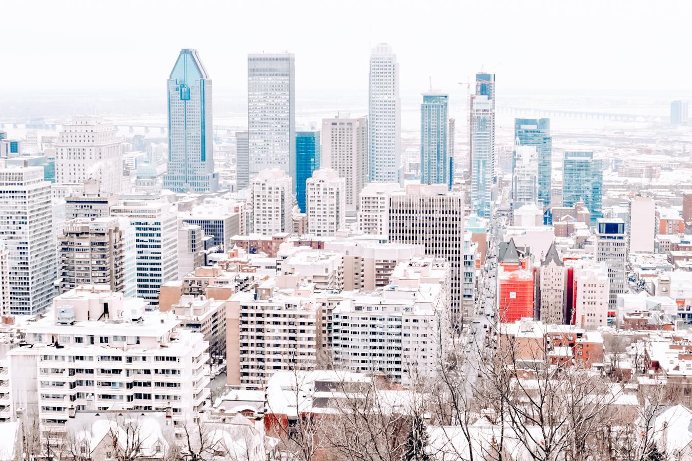 Buildings in Montreal