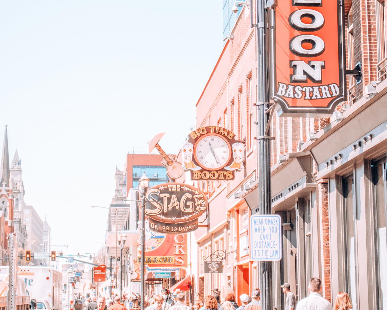 Street in Nashville