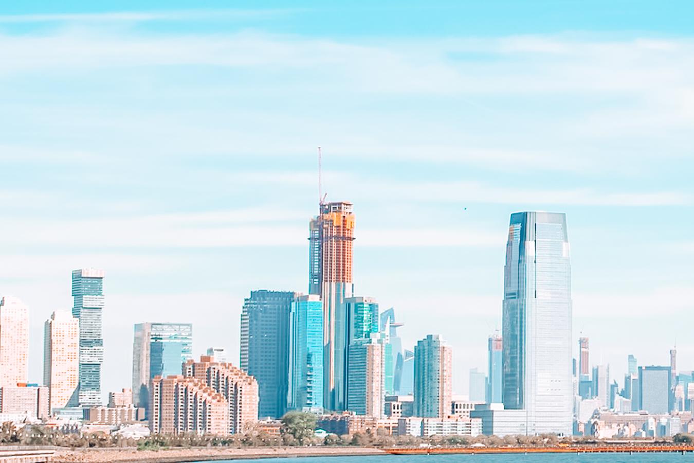 Skyline of Jersey City