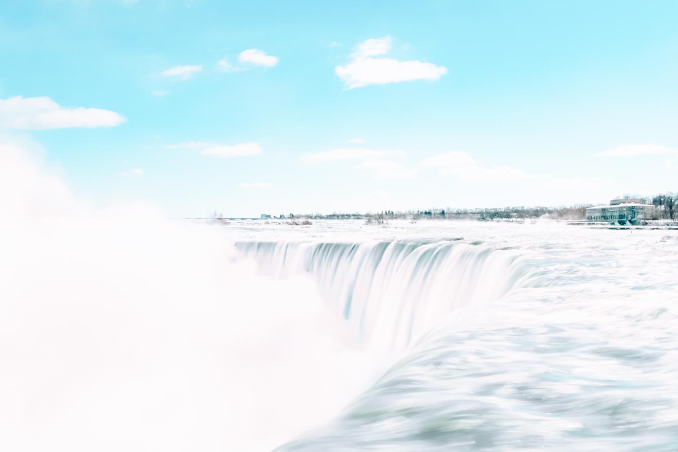 A view of the Niagara Falls