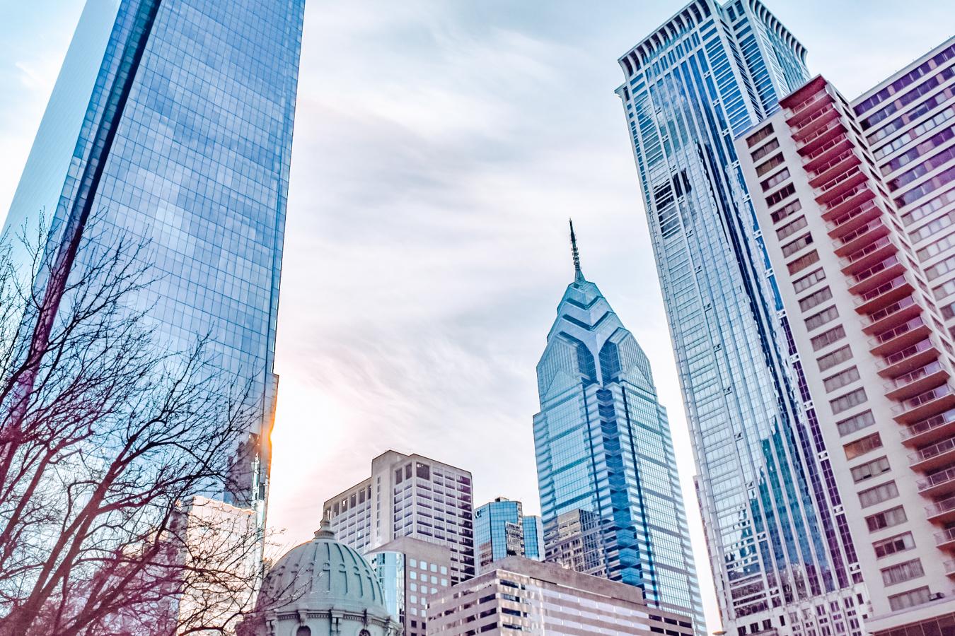 Buildings in the city of Philadelphia
