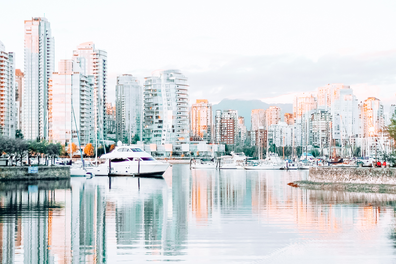 A view of Vancouver