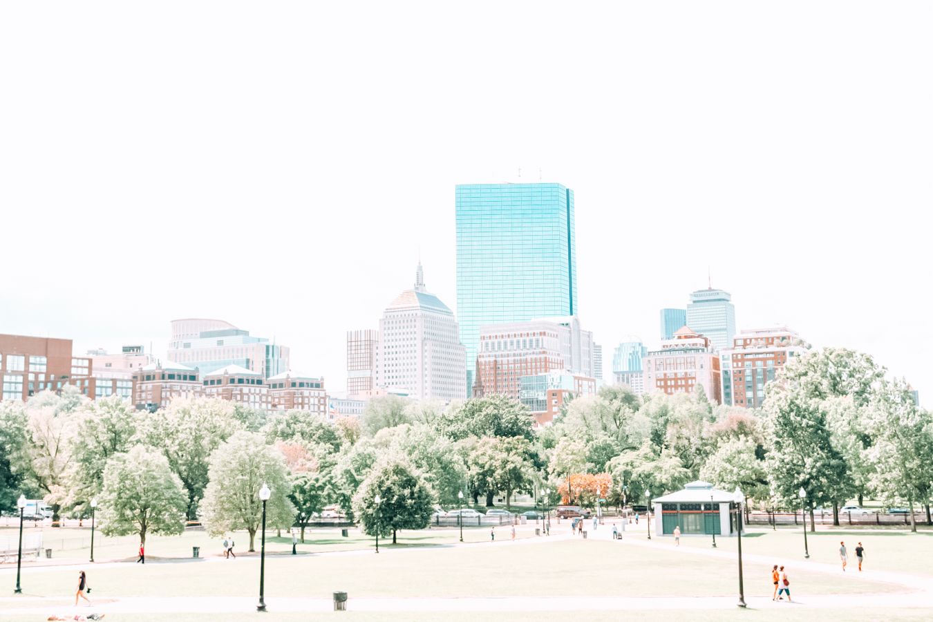 View from Boston Common