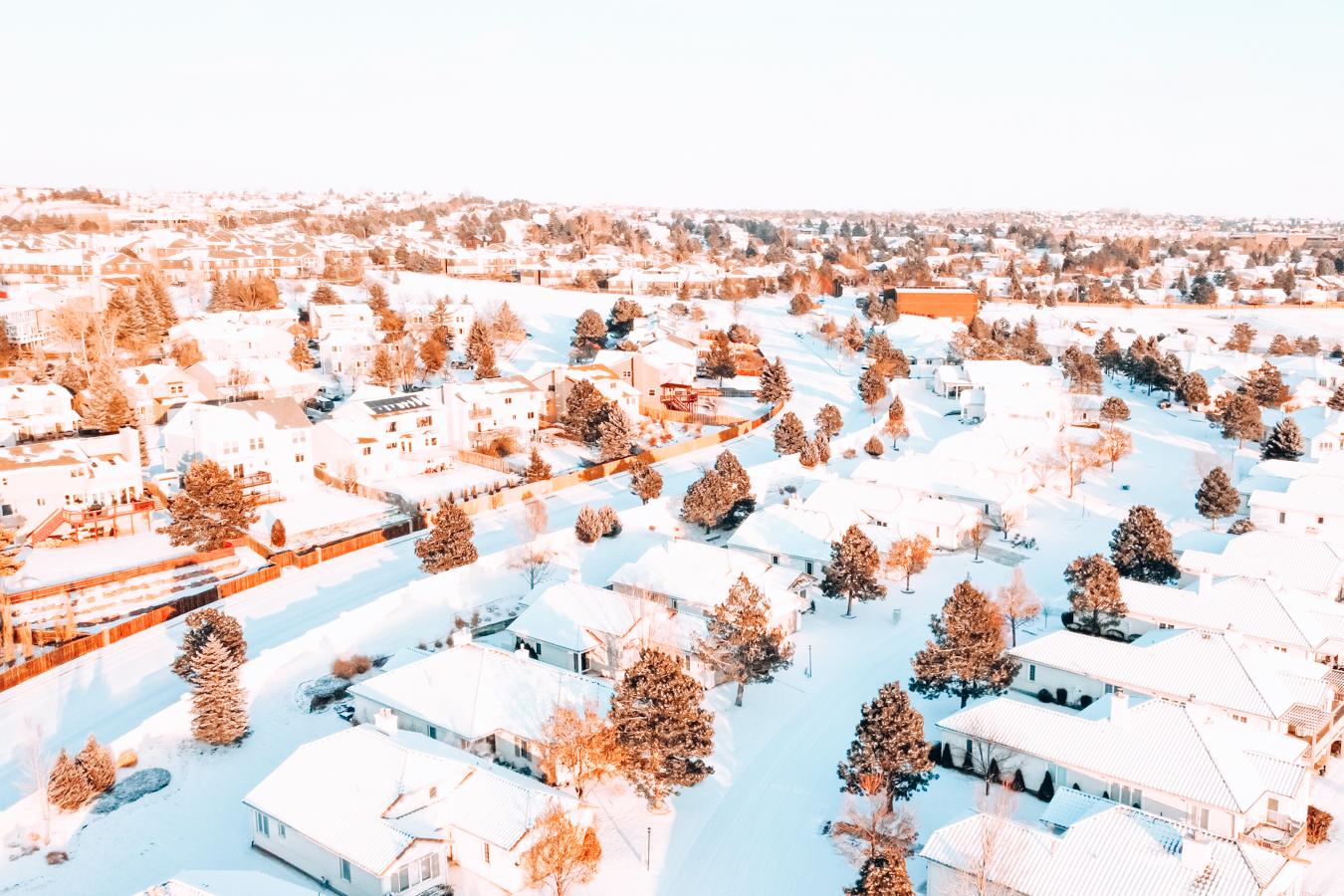 Snow in Colorado Springs