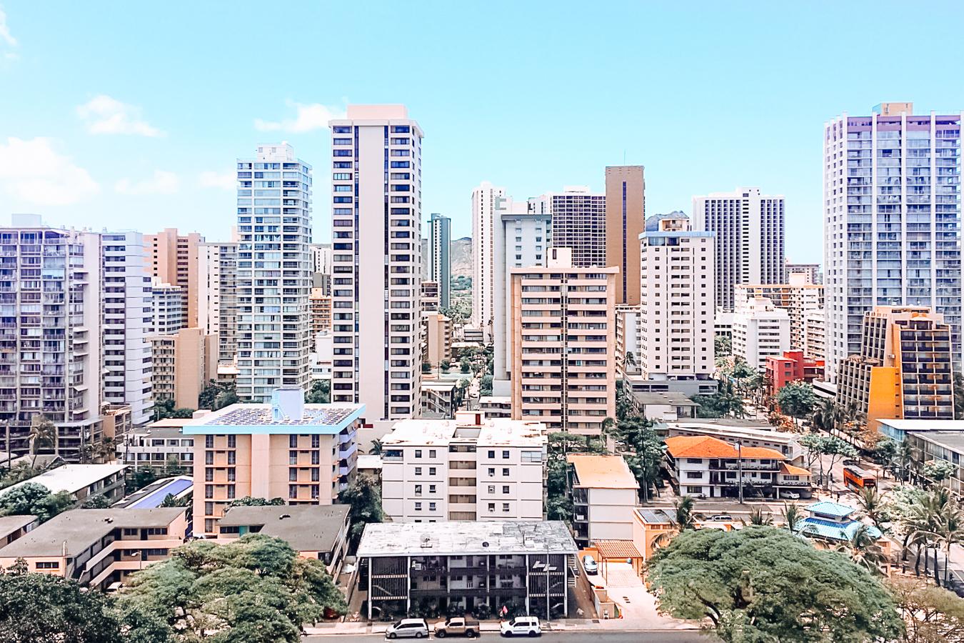 Buildings in Honolulu