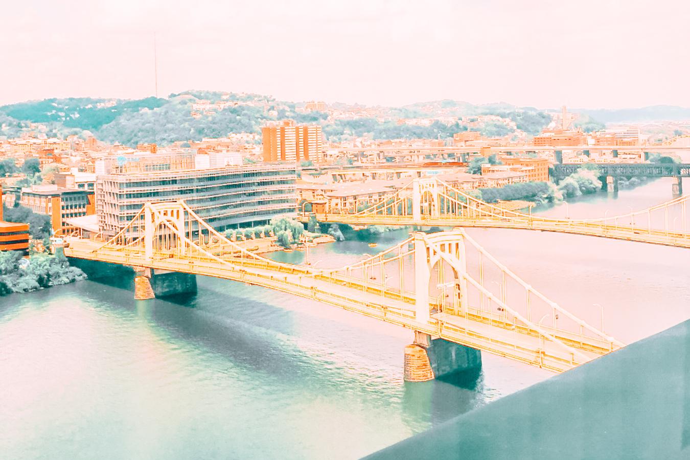 Yellow bridges