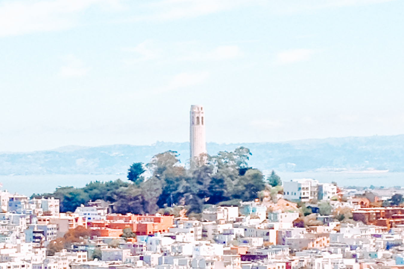 Coit Tower at North Beach