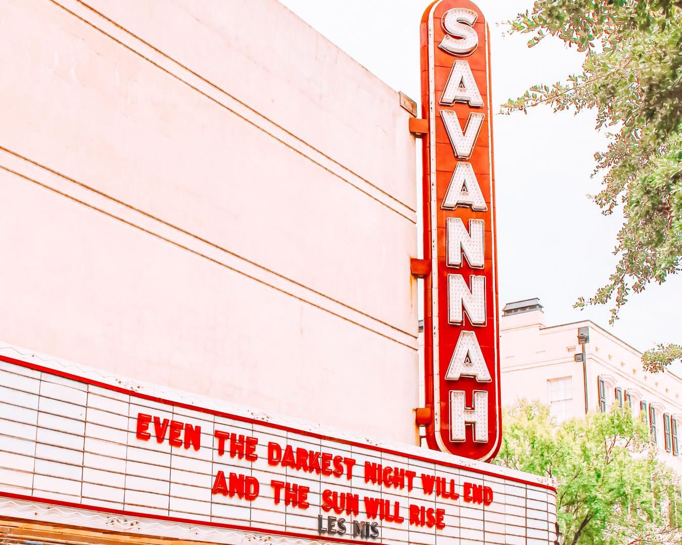 Sign of Savannah
