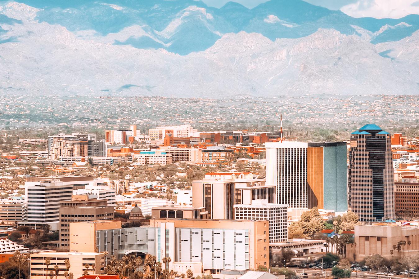 View of Tucson