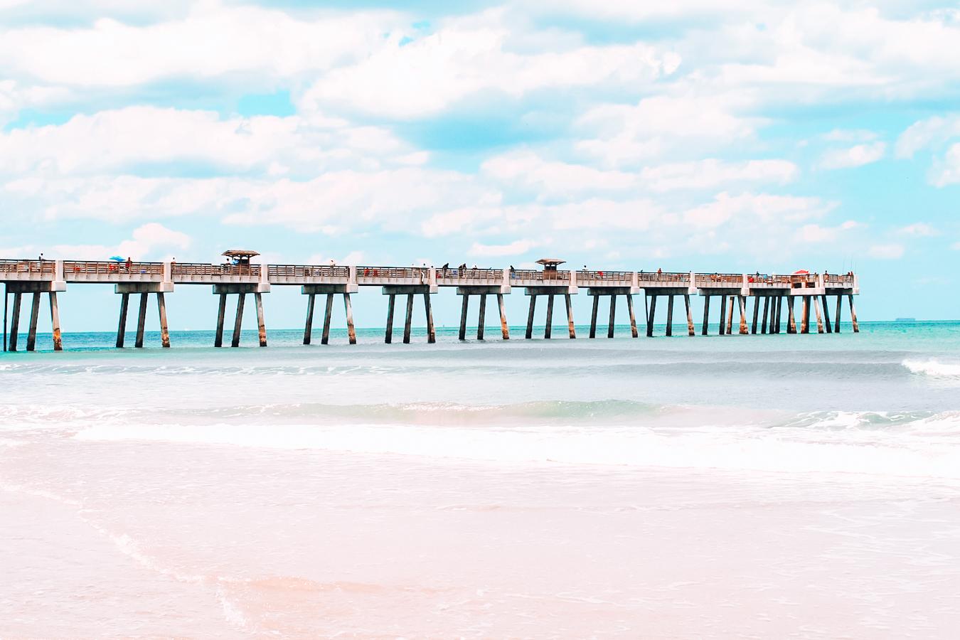 Pier of Jacksonville Beach