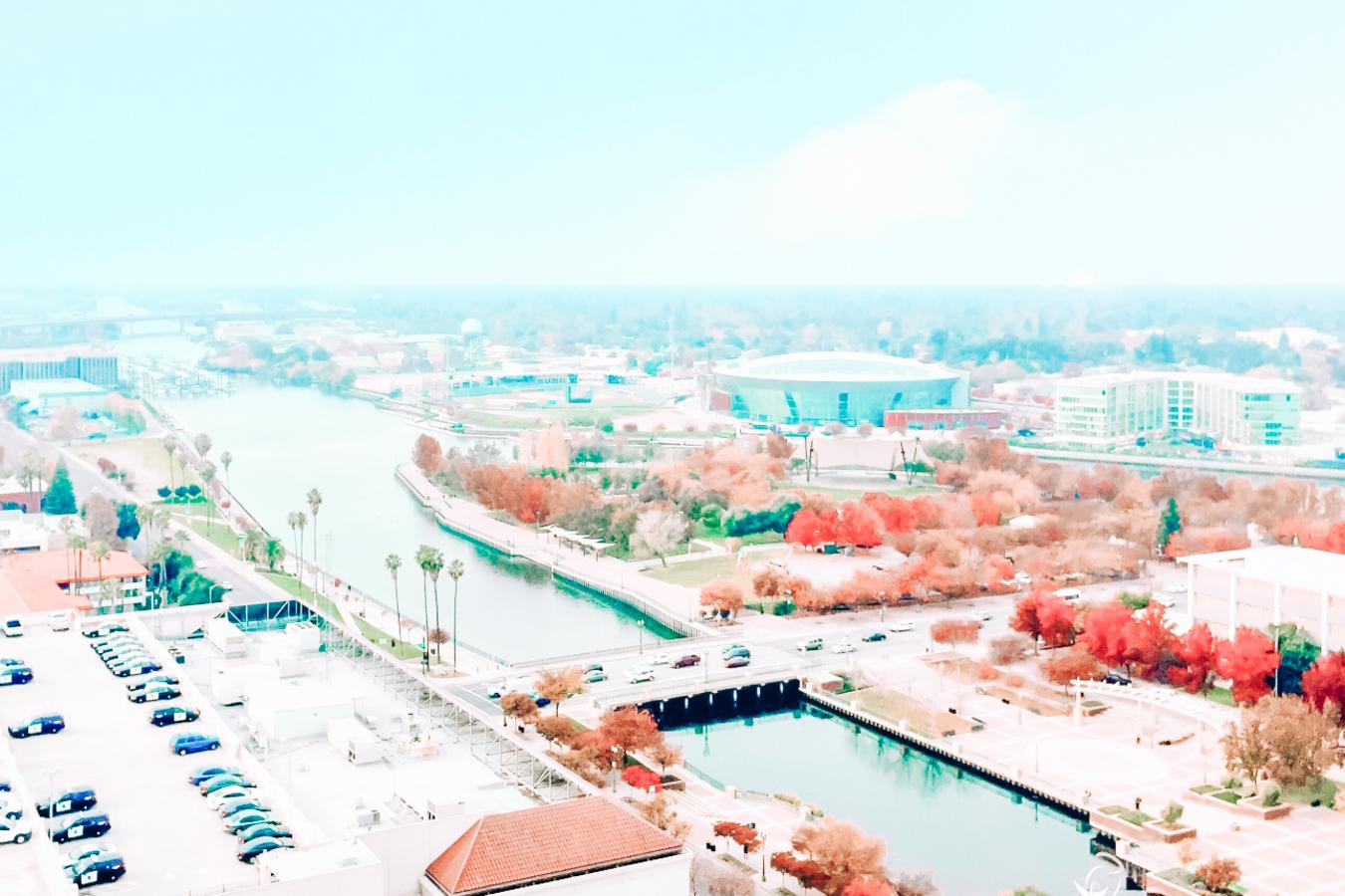 View of Stockton