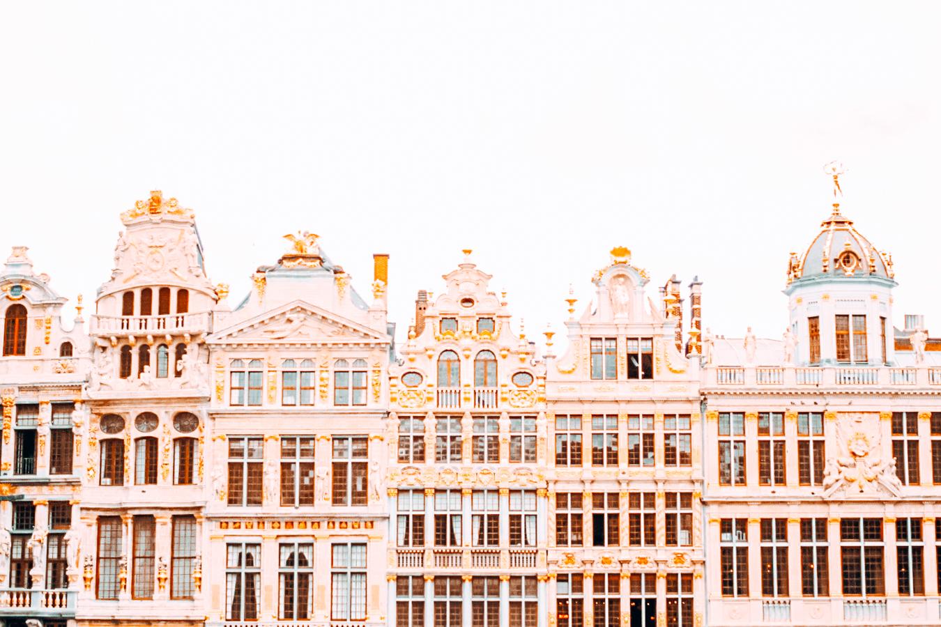 Buildings in Brussels