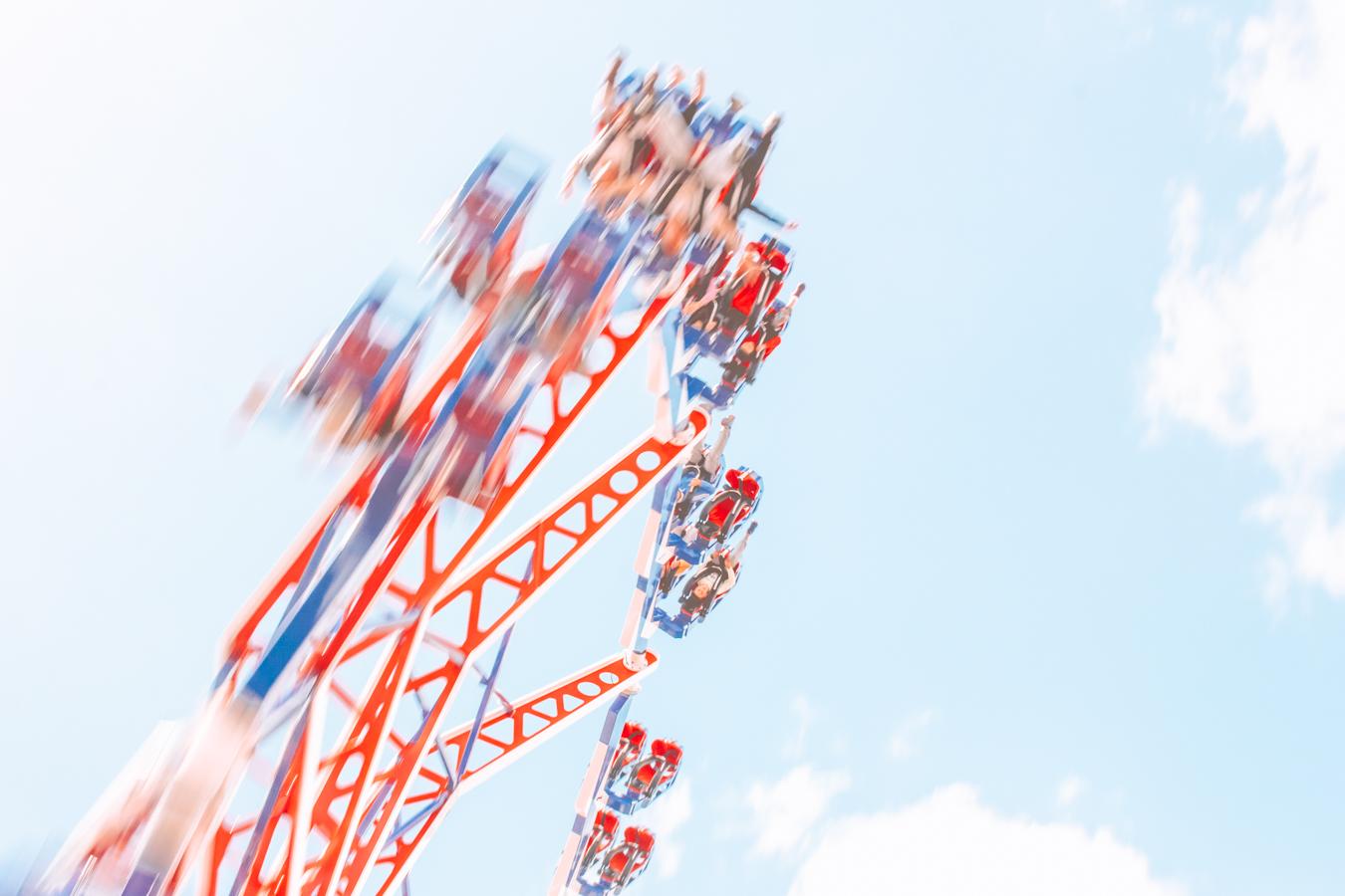 Roller coaster Tayto Park