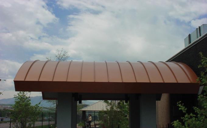 Curved Panels Dymi Construction