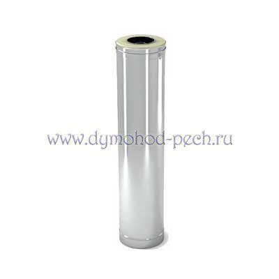 Сэндвич труба для дымохода с оцинковкой 0,5 L