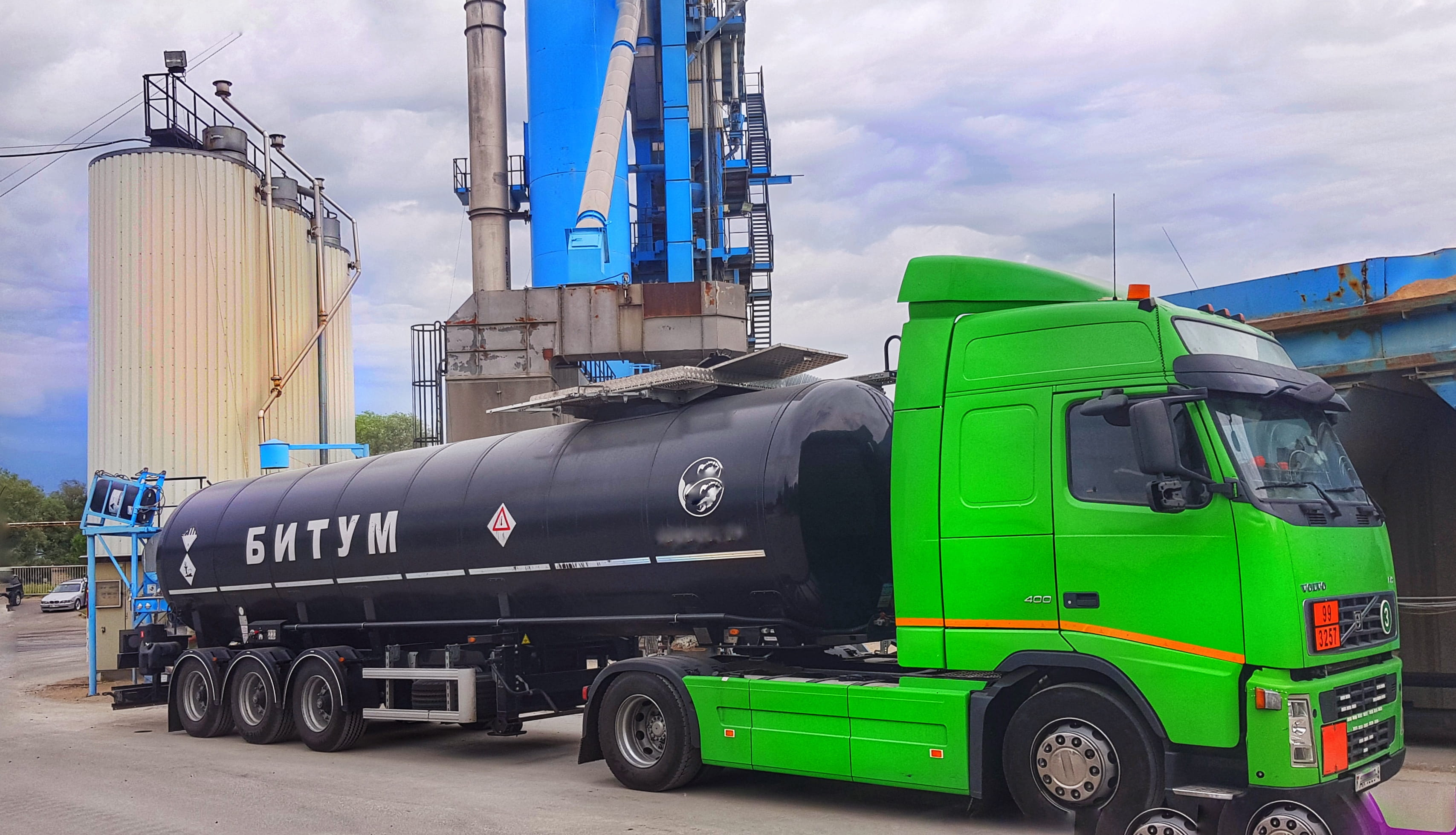 DYM Resources starts loading Polymer Modified Bitumen