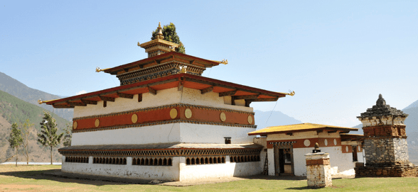 Black Chorten at …. (photo from web)