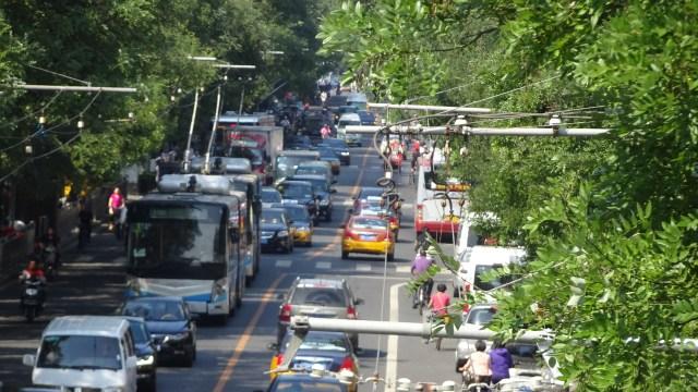 Traffic in Beijing DSC00135 © DY of jtdytravels