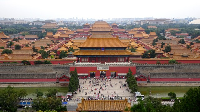 View over 'The Forbidden City' ; DSC00184 © DY of jtdytravels