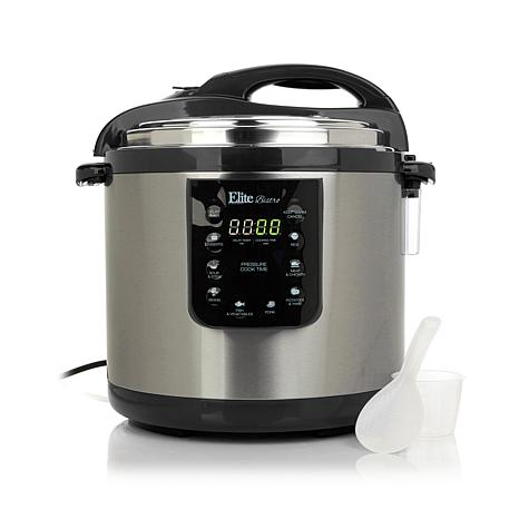 Elite Bistro 8-function 10-quart Electric Pressure Cooker Online Shopping