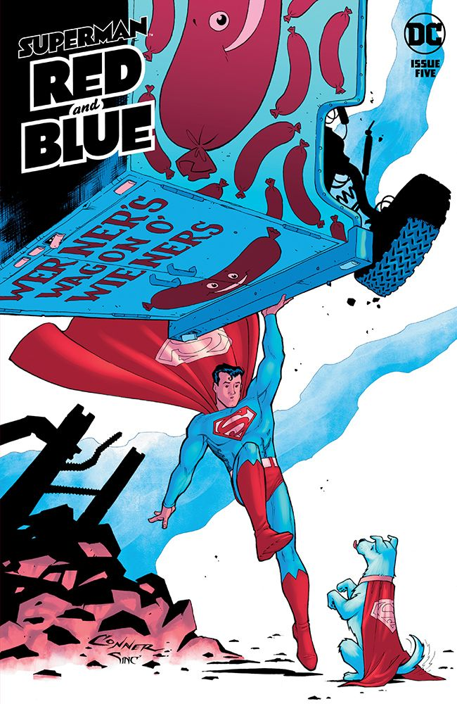 Superman: Red & Blue #5 Review | The Aspiring Kryptonian