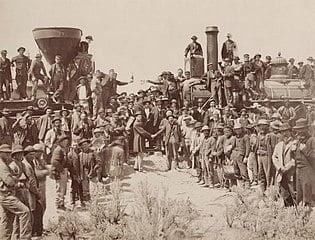 Transcontinental Railroad 150th Anniversary