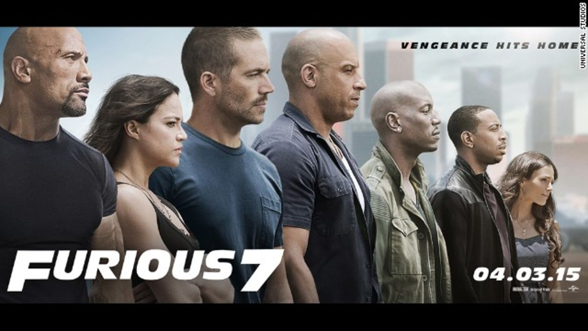 furious 7 focuses on