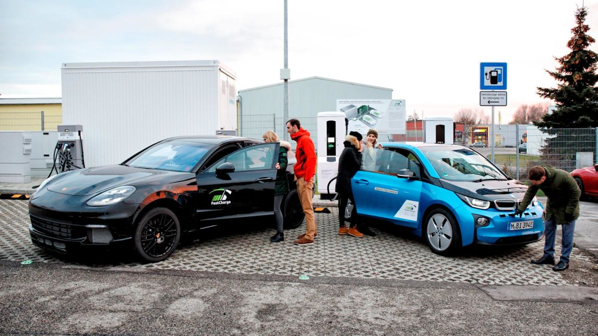 the electric cars of
