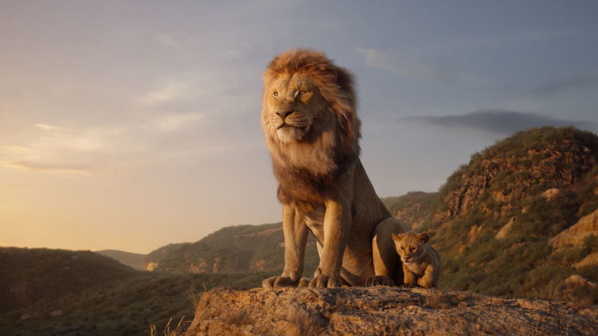 the lion king roars
