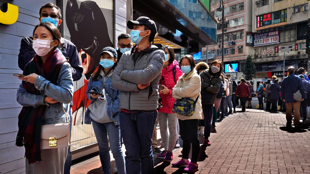 Coronavirus fears sink Hong Kong stocks as they reopen after the ...