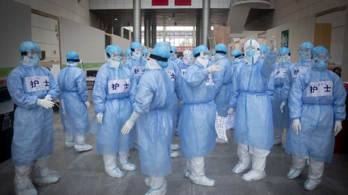 Over 1,700 frontline medics likely infected with coronavirus in ...