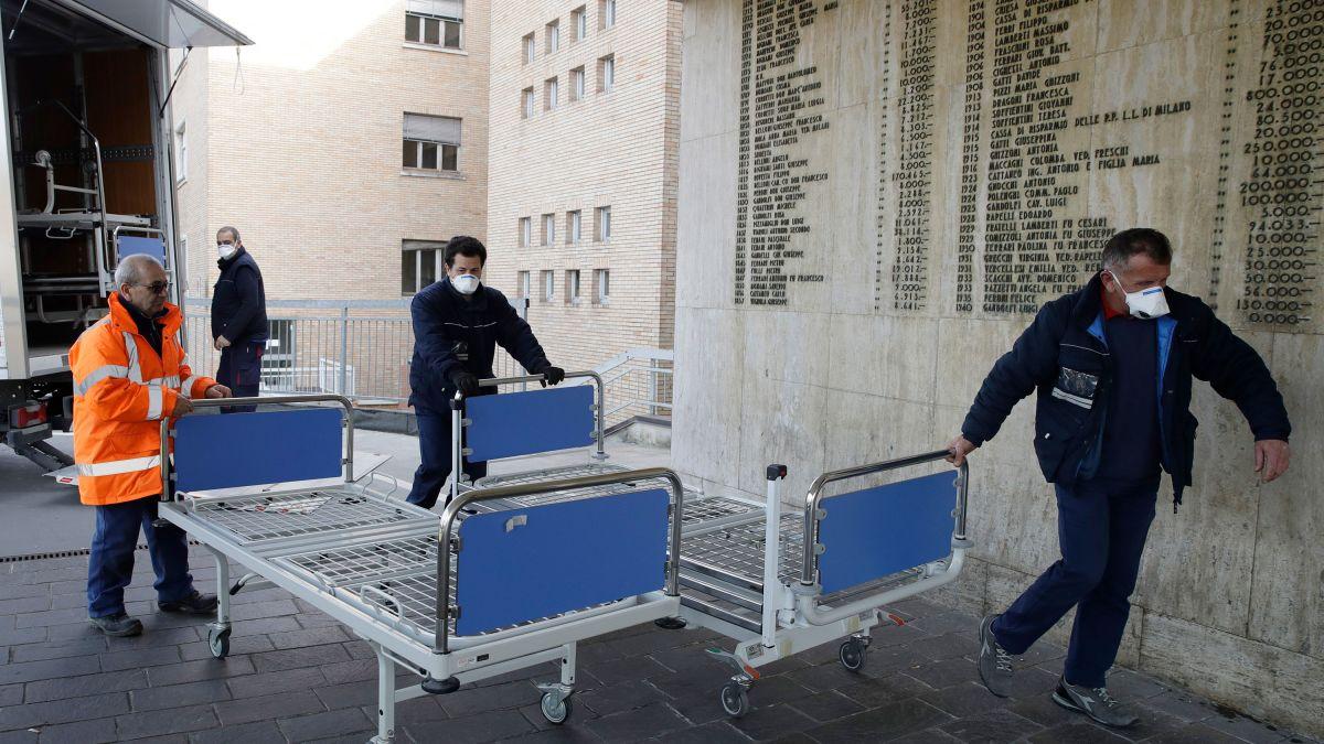 Italy scrambles to contain coronavirus after admitting hospital ...