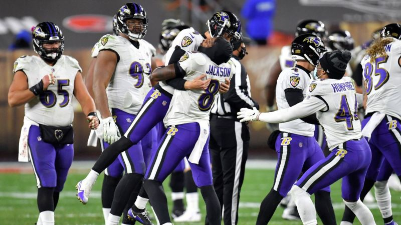 NFL: Baltimore Ravens beat Browns with field goal in dying seconds in  Monday Night Football classic - CNN