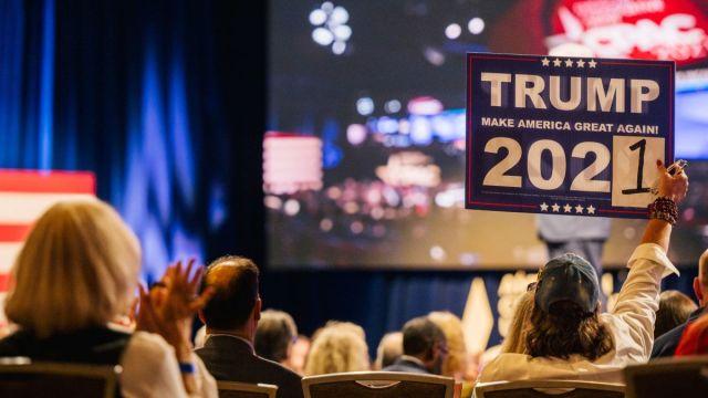 Donald Trump's false election claims persist at conservative gathering in  Texas - CNNPolitics