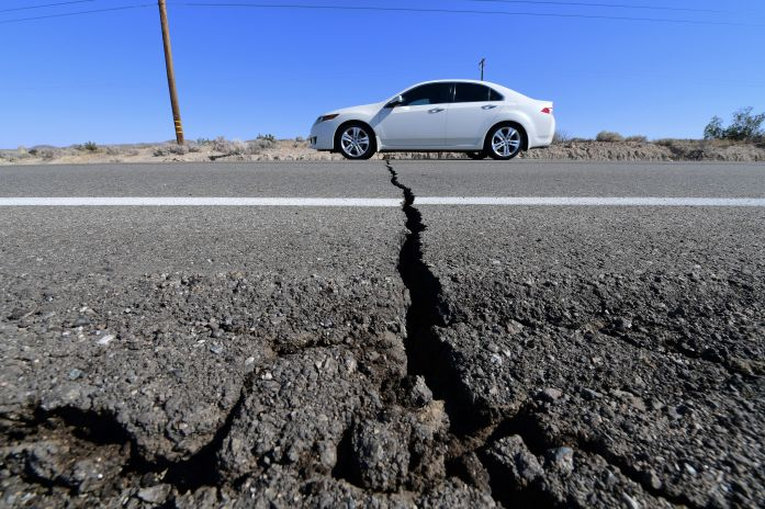 The ground has not stopped shaking since the 7.1-magnitude earthquake on Friday.