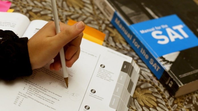 College Board cancels August SAT exam for nearly half of students ...