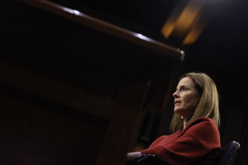 Supreme Court nominee Amy Coney Barrett.