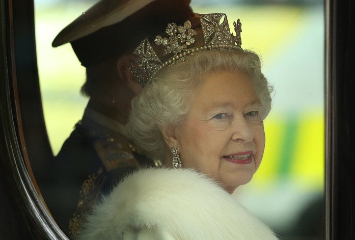 The Queen's role in the process is purely formal.