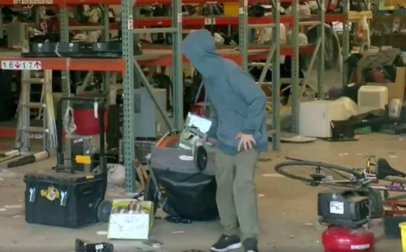 Looting in St. Paul, Minneapolis.