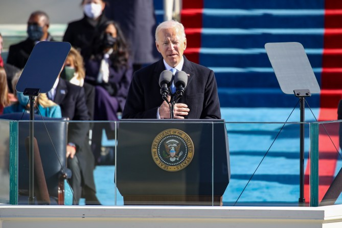 112) Unity wins out over division throughout US history, Biden says