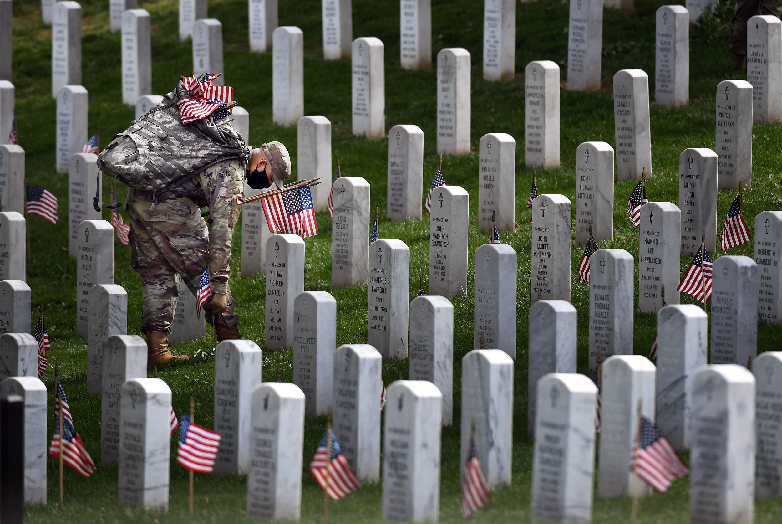What Memorial Day At Arlington National Cemetery Is Like
