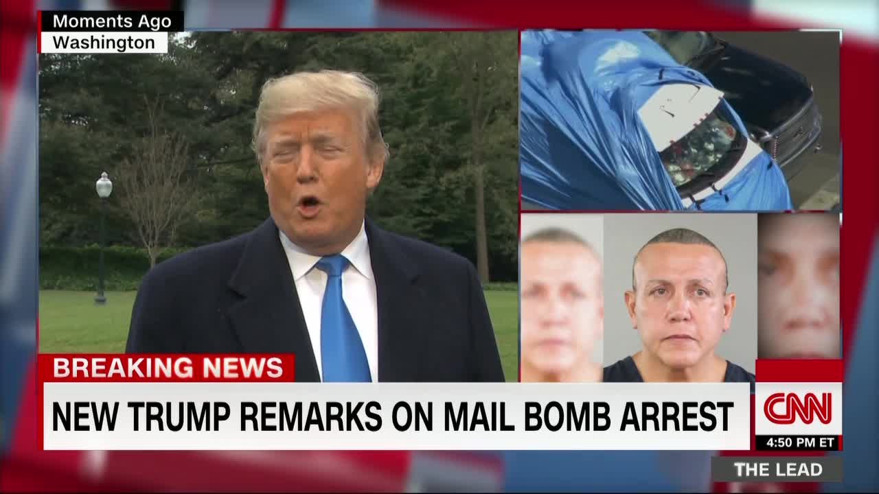 bomb suspect arrested after