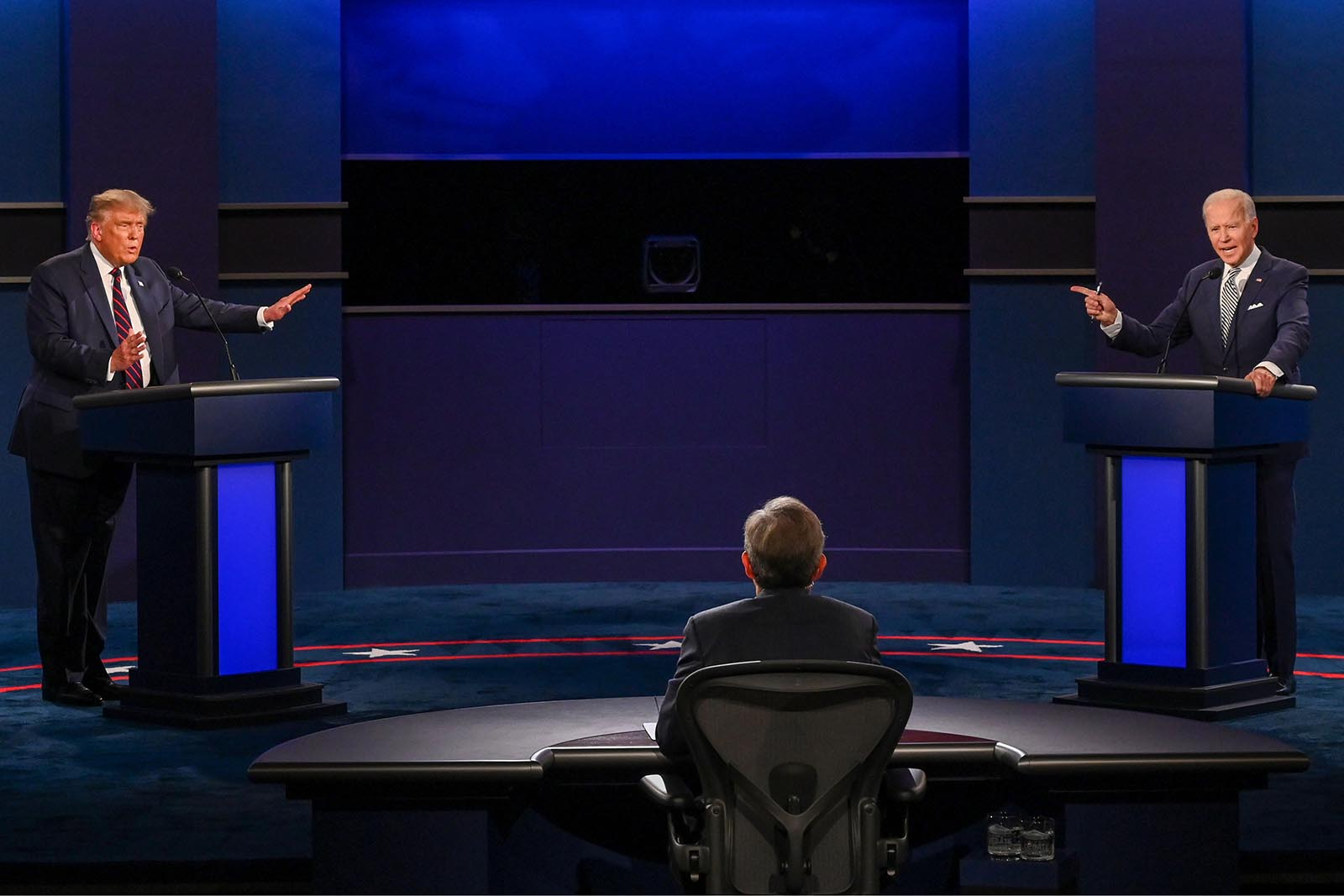 First Presidential Debate News Coverage And Fact Check