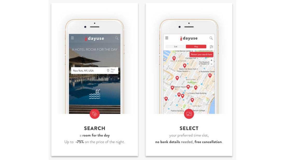 Best travel apps DayUse