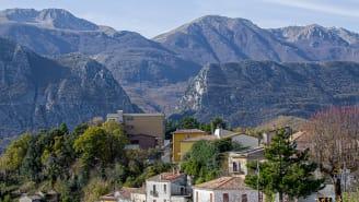 Castel San Vincenzo has long offered an escape for pilgrims.