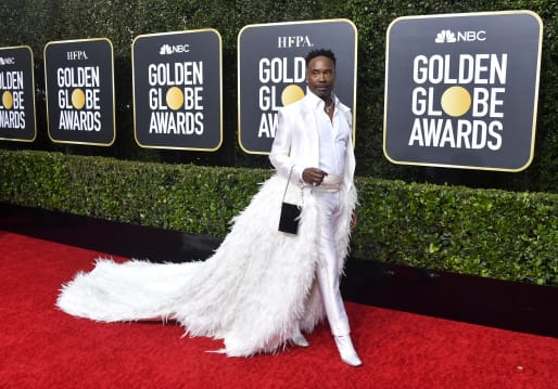 Billy Porter attends the 77th Annual Golden Globe Awards at The Beverly Hilton Hotel on January 05, 2020 in Beverly Hills, California.
